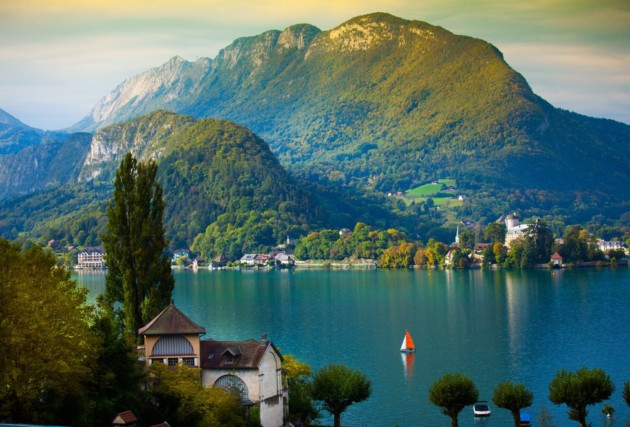 Lake Annecy - France
