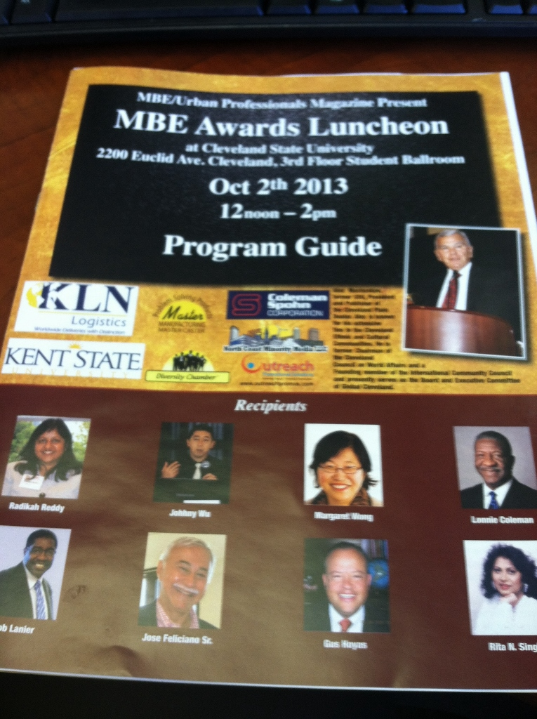 MBE Awards Program