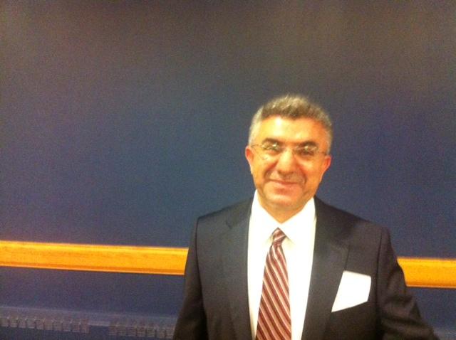 Dr. Zeki Saritoprak at Iftar Dinner