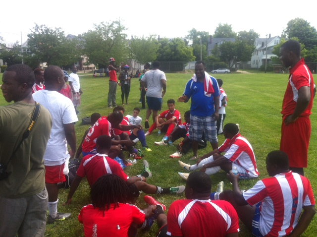 Liberian American Day Soccer Game