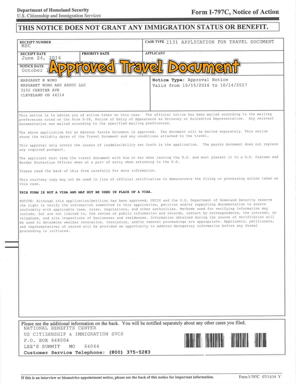 immigrant interview paper