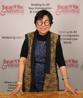 Margaret W Wong on the air