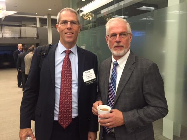 Mr. Scott Chaikin and Mr. Joe Roman