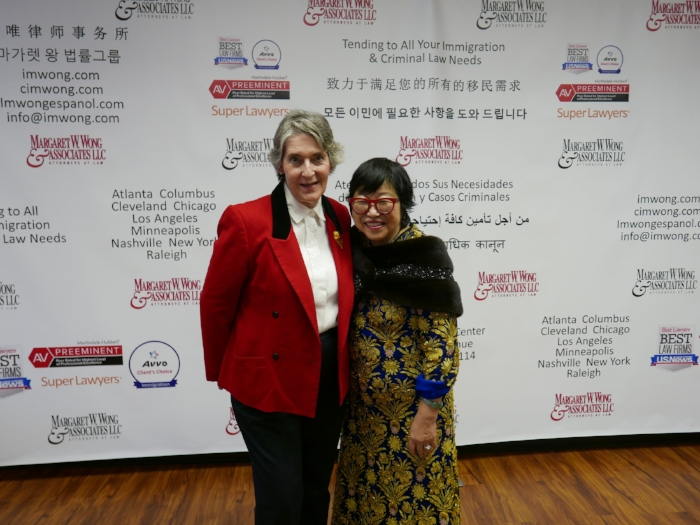 Ms. Wong and Attorney Beryl Farris