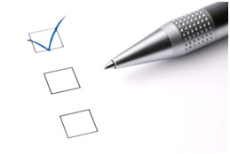 Best Career Advice - checkbox and pen