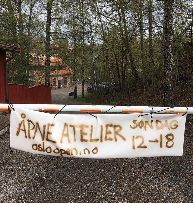 Velkommen til oss i dag mellom kl 12-18! 30 åpne atelierer og verksteder, utstilling i Galleri Frychini og kafé. Kjelsåsveien 145, vis a vis Teknisk Museum.  #osloopen2019 @osloopen #frysjakunstnersenter