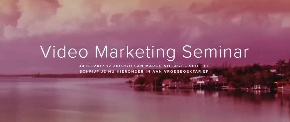 Video Marketing Seminar