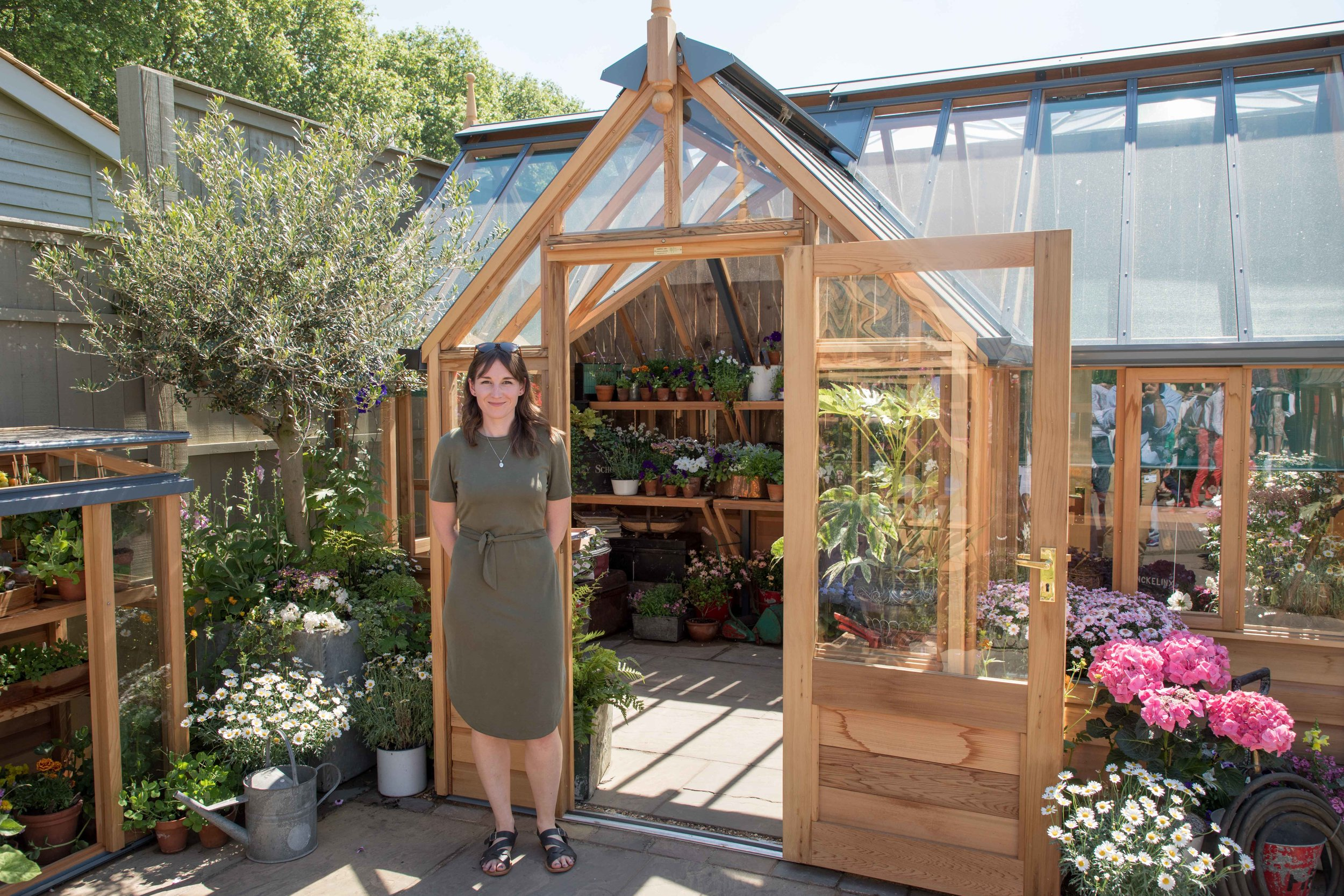 Designer Lilly Gomm discusses her RHS Show Garden — Mark Spencer