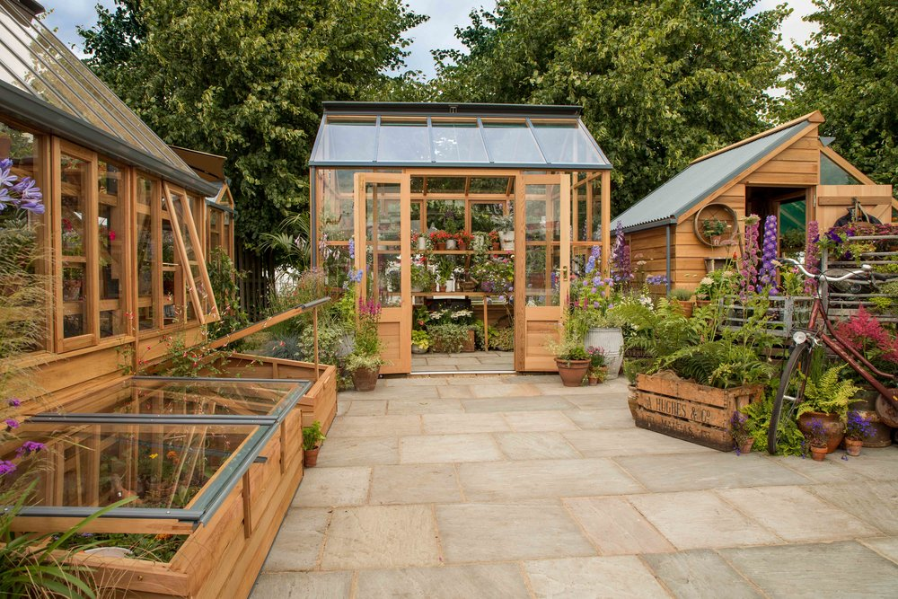 The 2017 Trade Stand at RHS Hampton Court Flower Show. This won Best Trade Stand in Show.