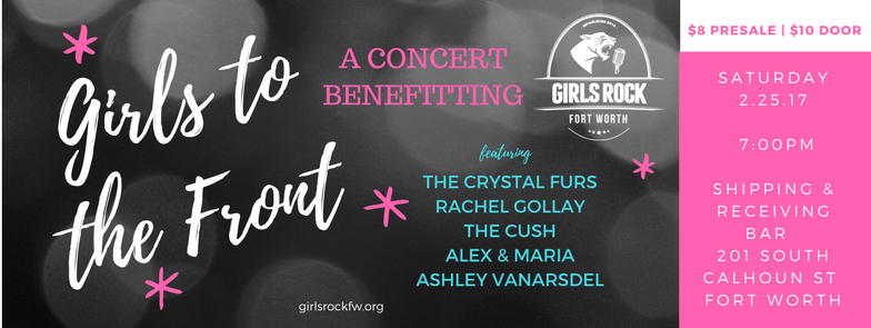 Image via Girls Rock Fort Worth Facebook Page