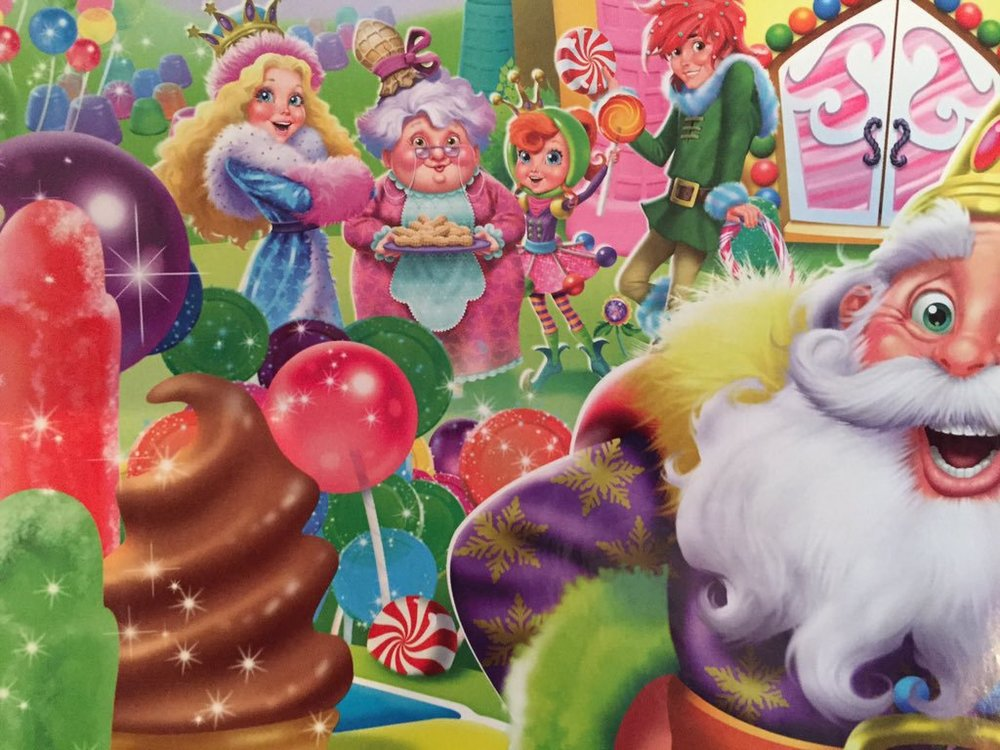Take too much and your band could end up looking like the cast from  Candyland