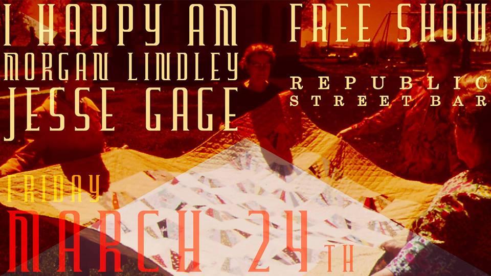 Show Poster Image via Republic Street Bar's FB Event Page