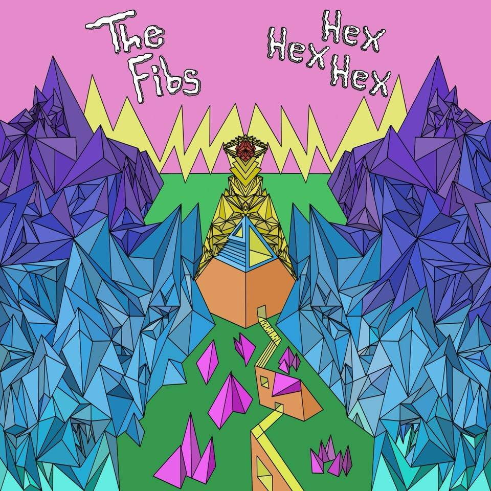 The Fibs' album artwork for  Hex Hex Hex -  Image via Dreamy Soundz Bandcamp