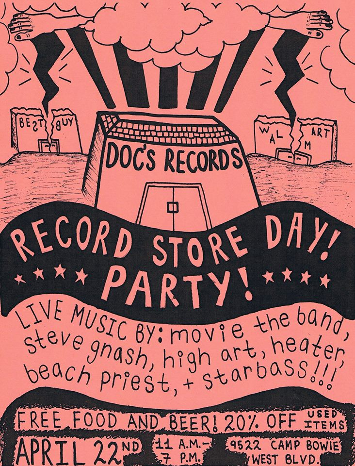 Image via Doc's Records Facebook Page