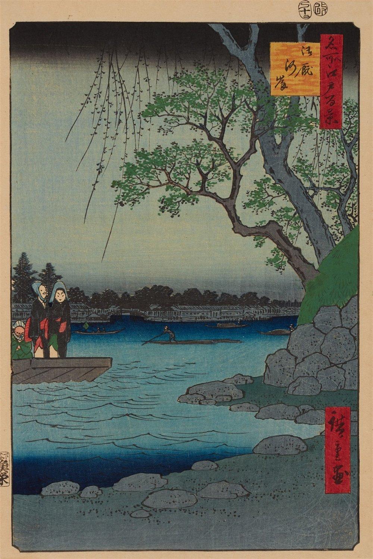 Onmayagashi (1857) - Hiroshige