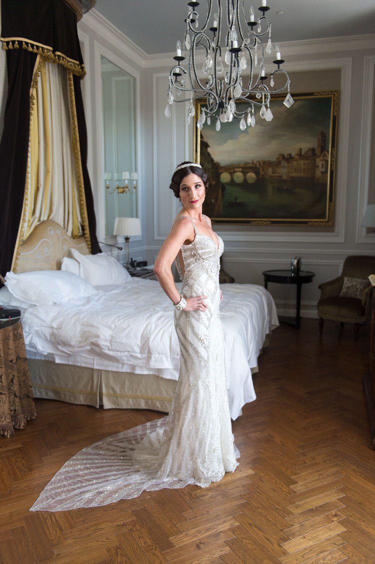 Destination Wedding In Florence Italy, Dress by Galia Lahav