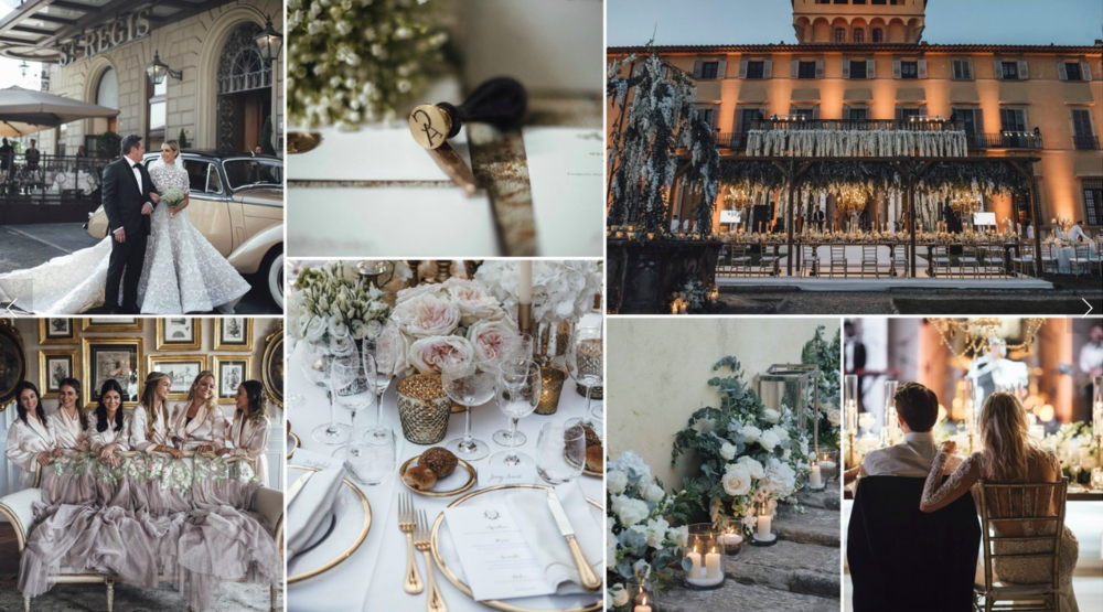 Camila Carril Wedding in Florence Italy