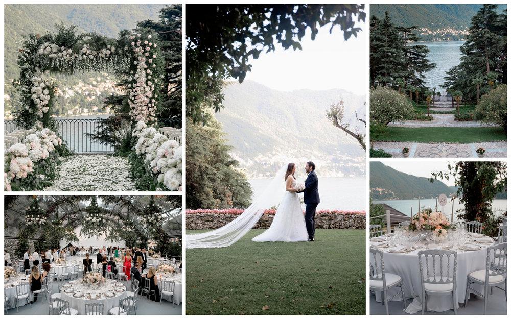 Siret and Hazal Wedding Lake Como