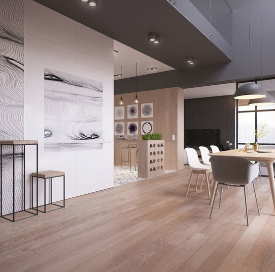 Red Oak   Red oak stands out for its strength and beauty. Its annual rings simulate shapes of cathedrals. This wood is highly appreciated by architects and designers.