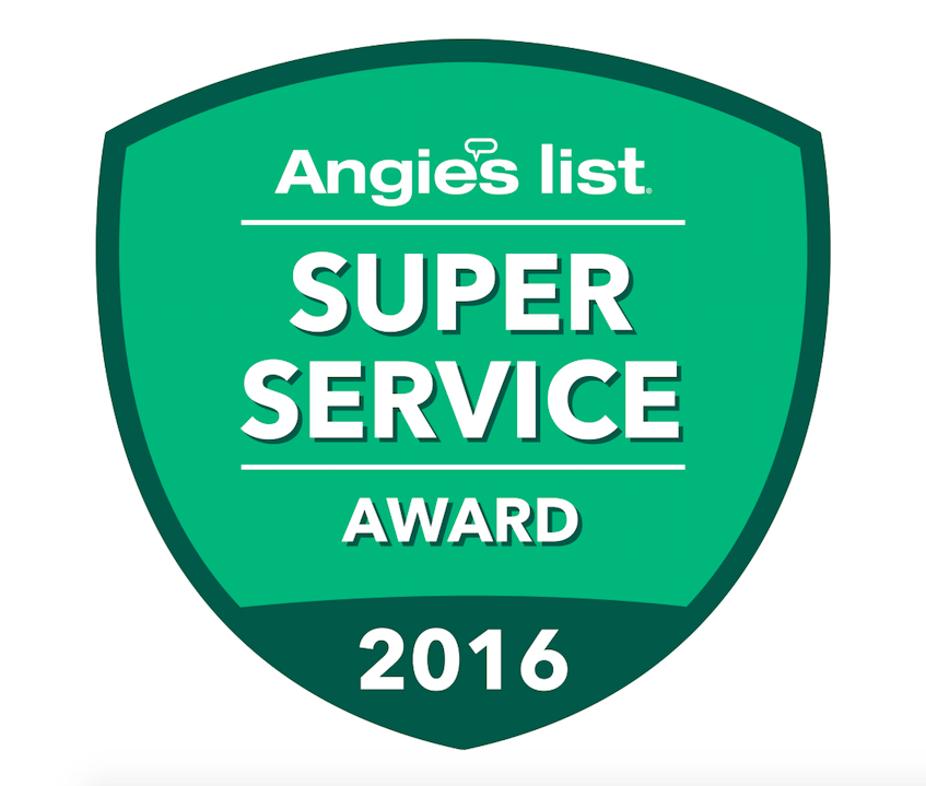 ANGIES LIST SUPER SERVICE AWARD: 2010, 2011, 2012, 2013, 2016