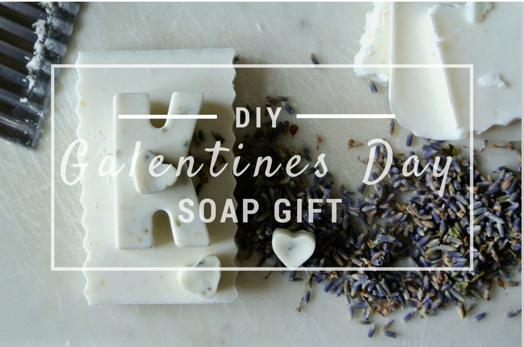 DIY GALENTINES DAY SOAP GIFT