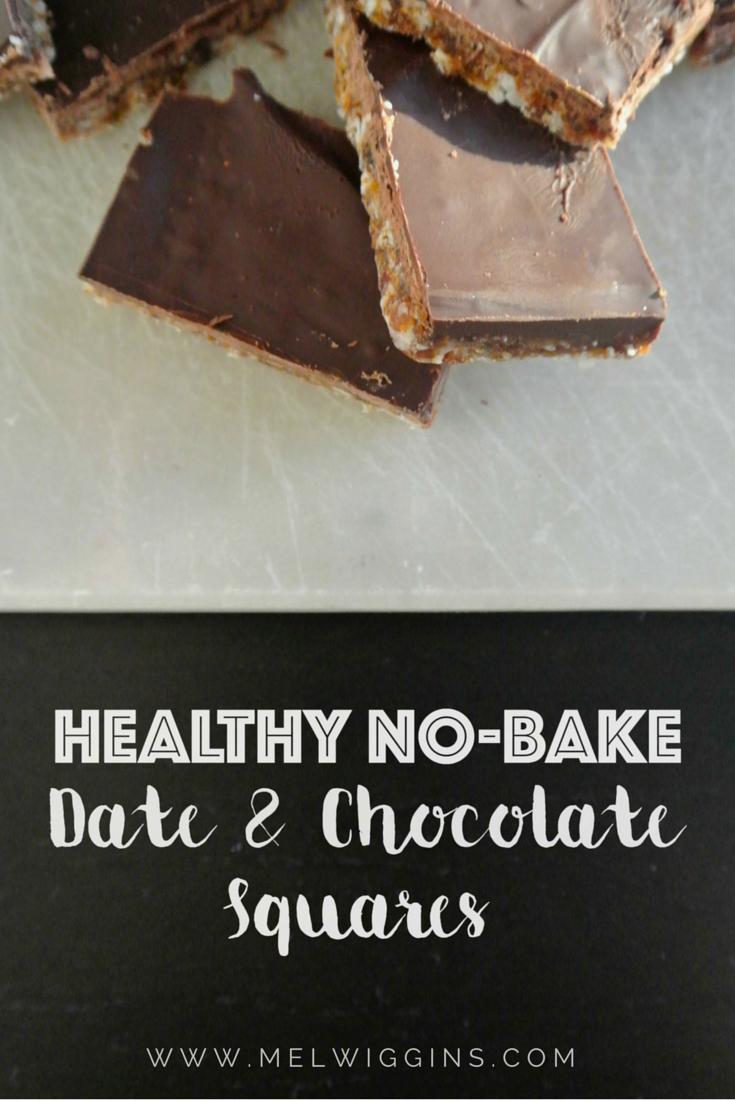 Date & Chocolate Squares
