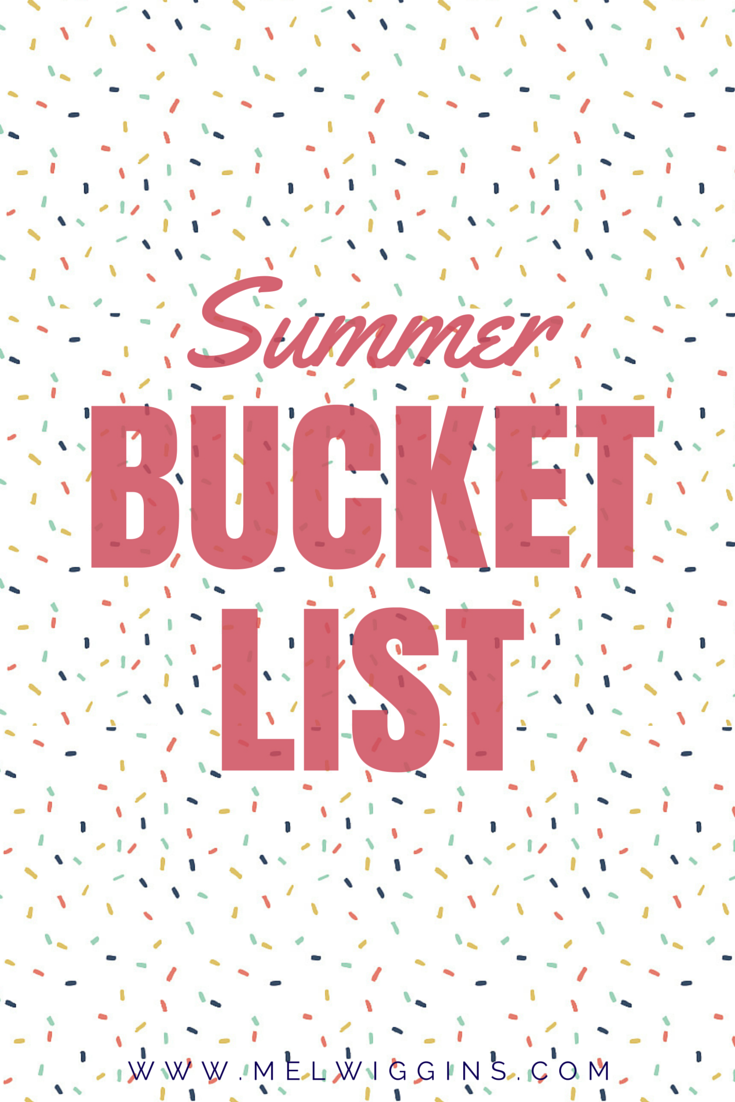 Summer Bucket List 2015