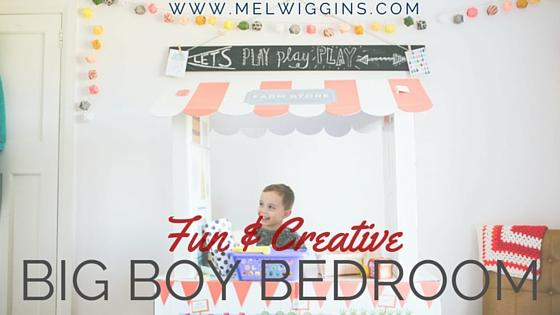 Fun & Creative Big Boy Bedroom