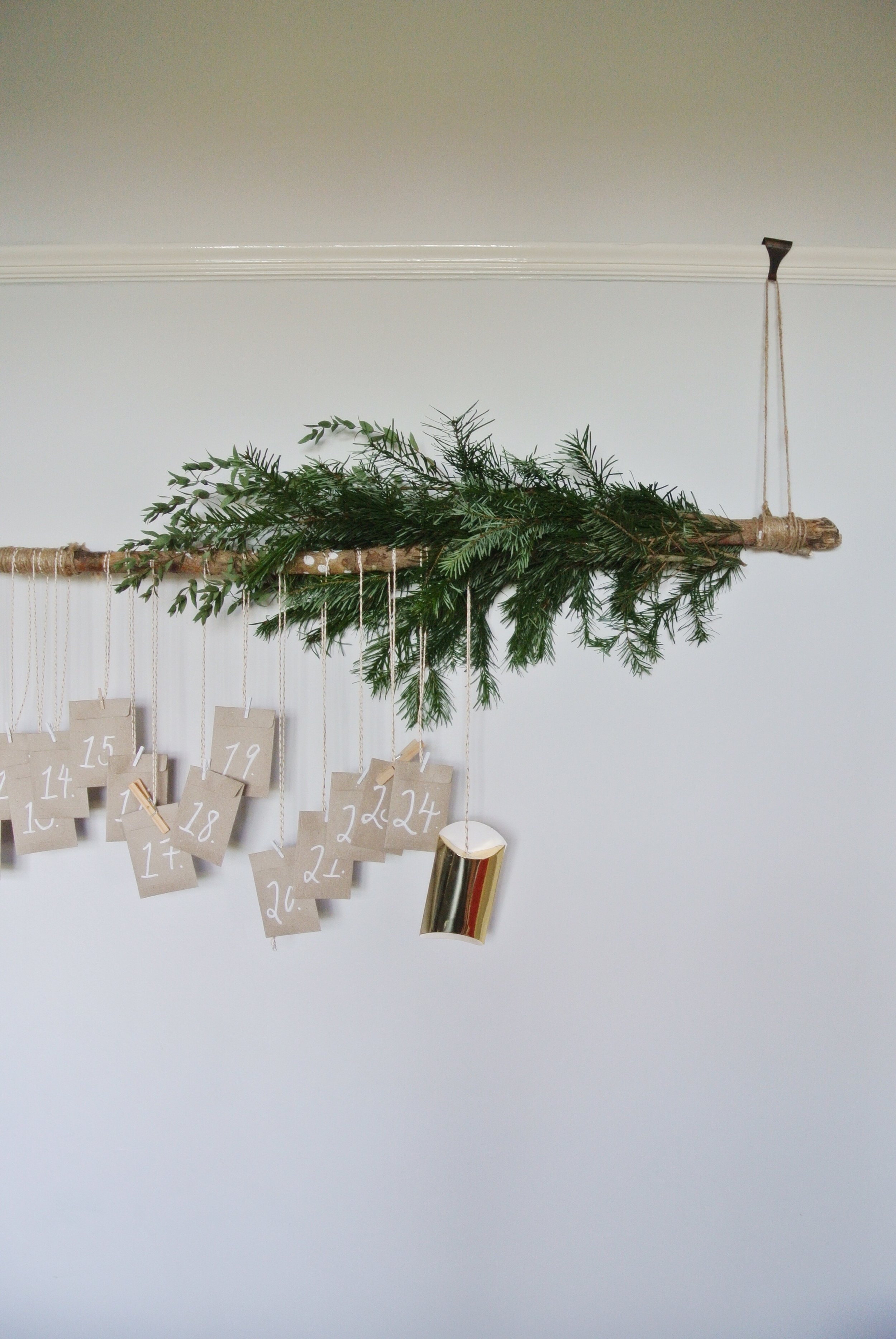 Simple Christmas Makings Advent Branch