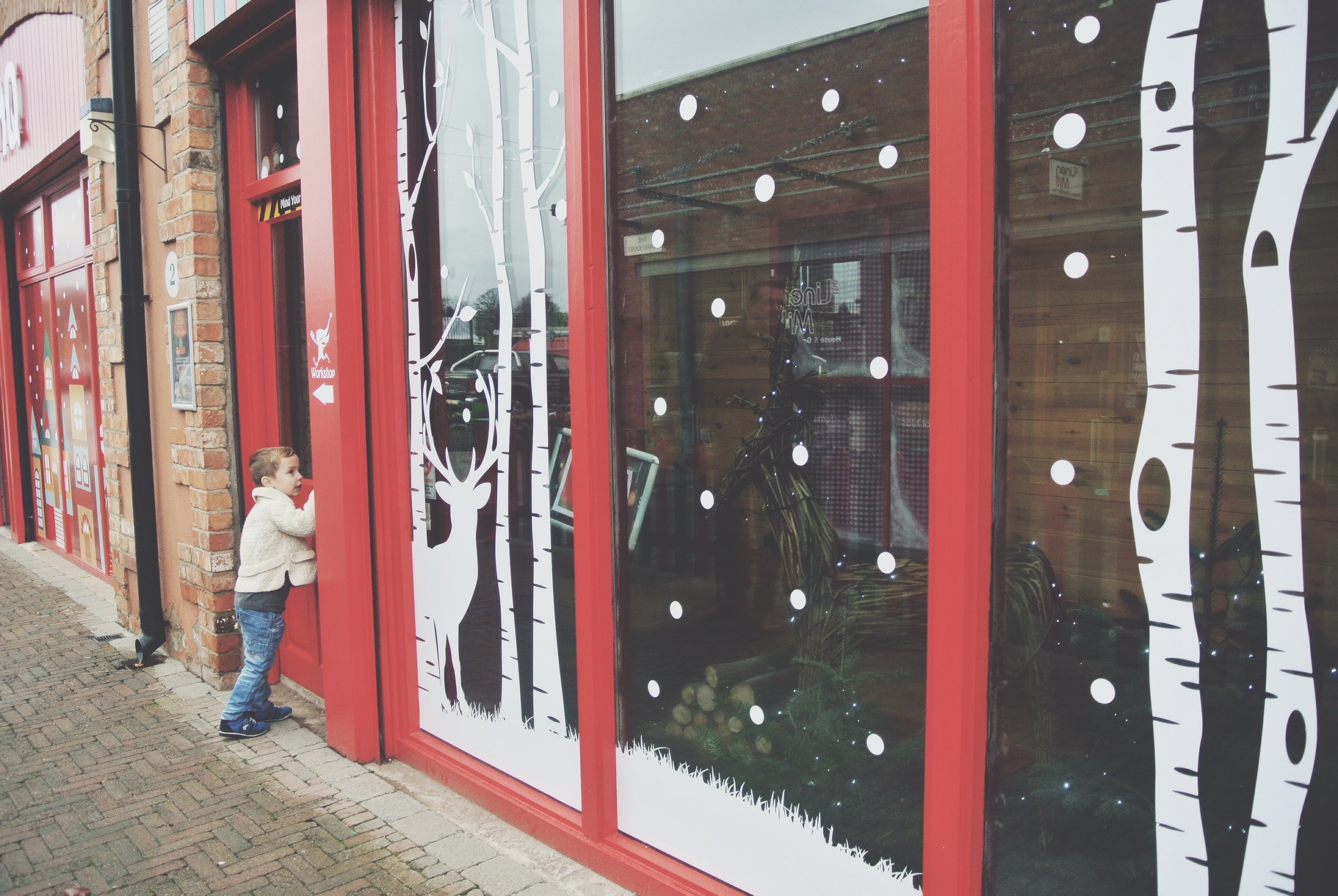 Santa's Workshop The Linen Green