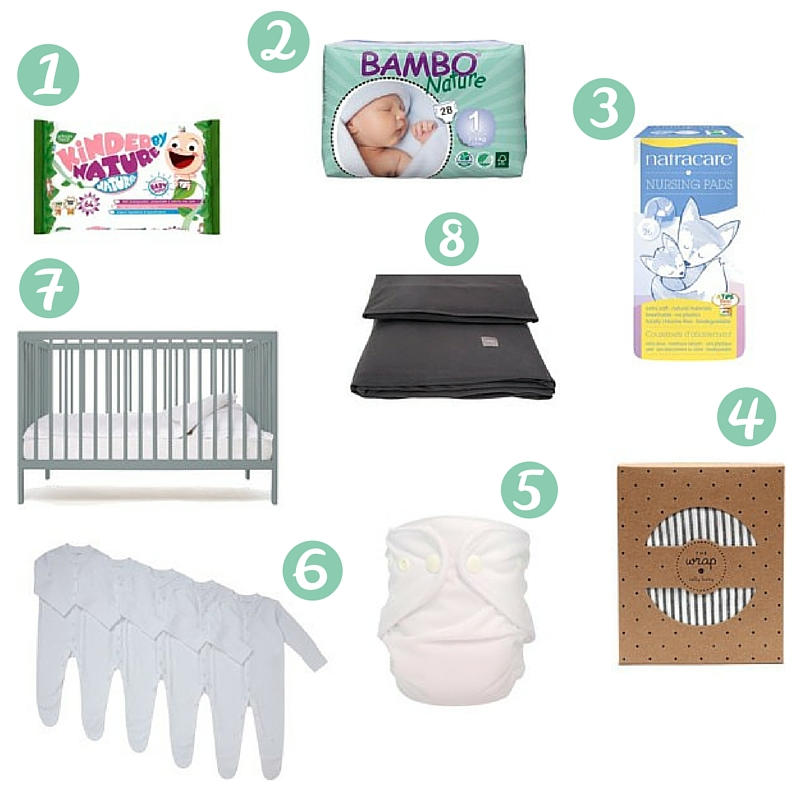Eco Ethical Baby Essentials for Newborns