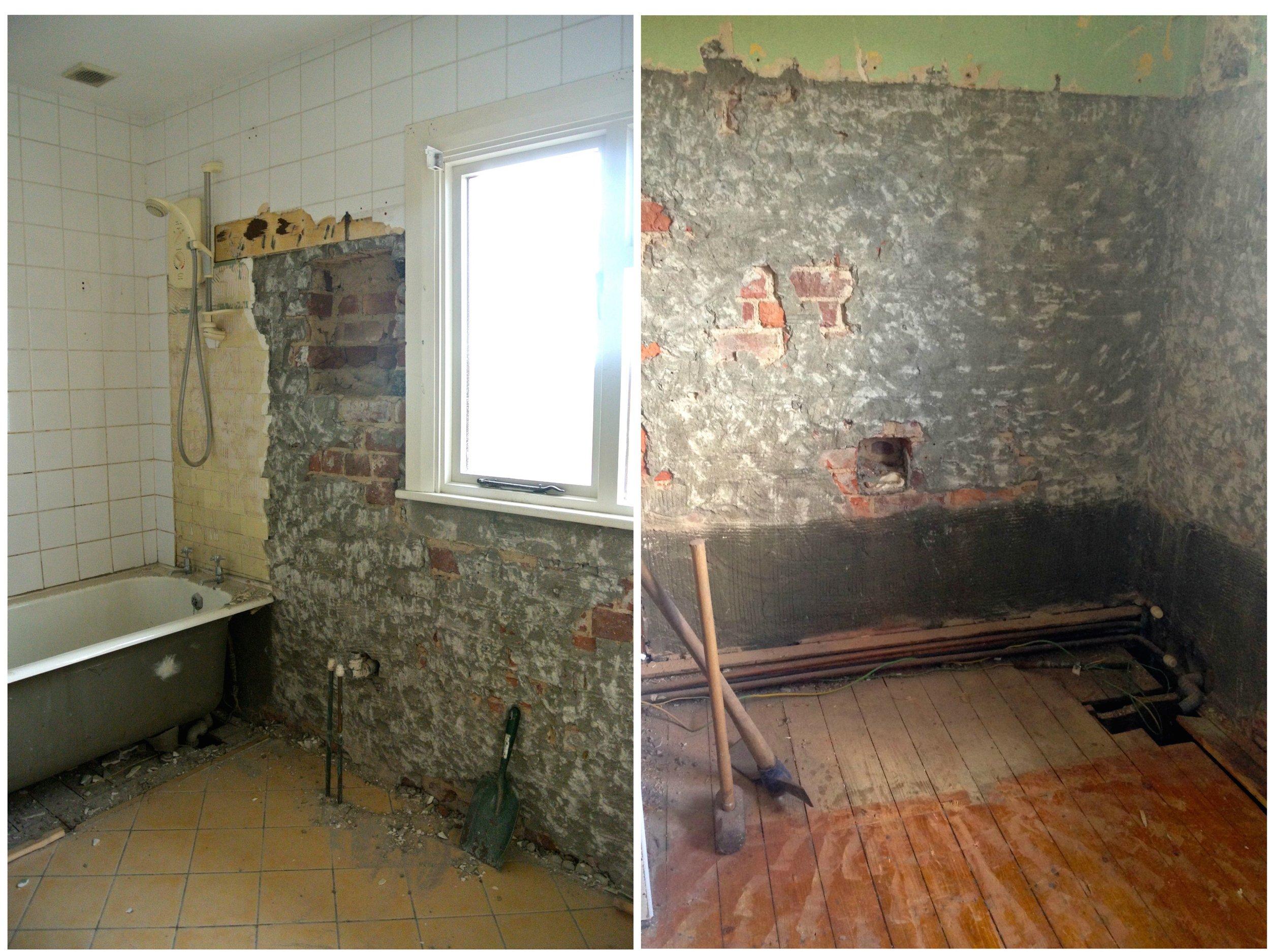 Bathroom Renovation Before Mel Wiggins