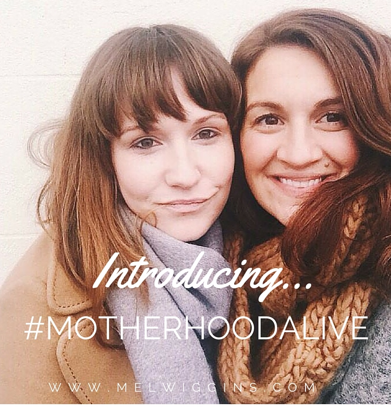 Introducing #motherhoodalive - a new instagram hashtag for mothers who want to support each other in coming alive! MelWiggins.com AlyHarte.com