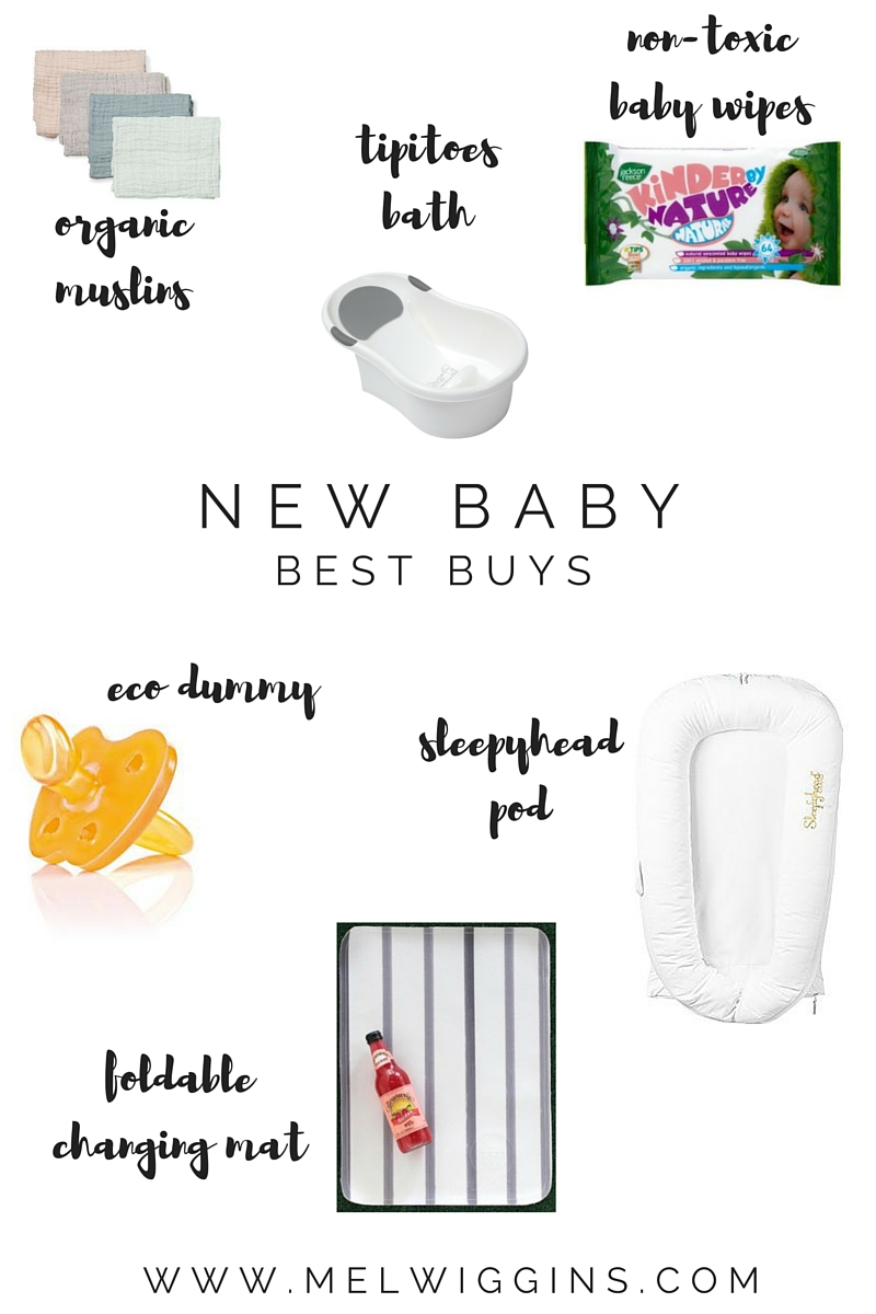 New Baby Best Buys - Items to make the transition to baby life easier. www.melwiggins.com
