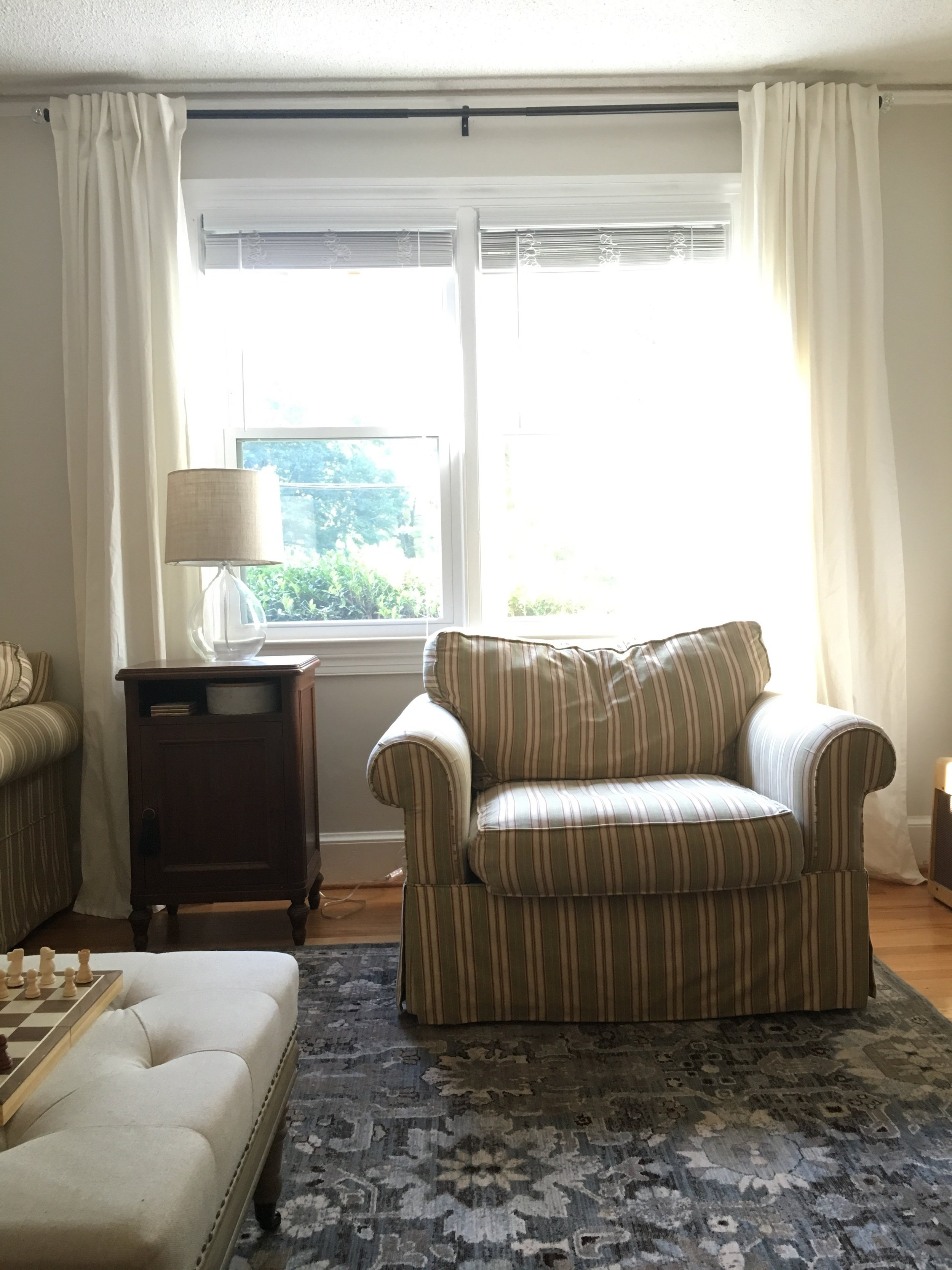 curtains & thrift store finds — Cultivate Interiors | Interior ...
