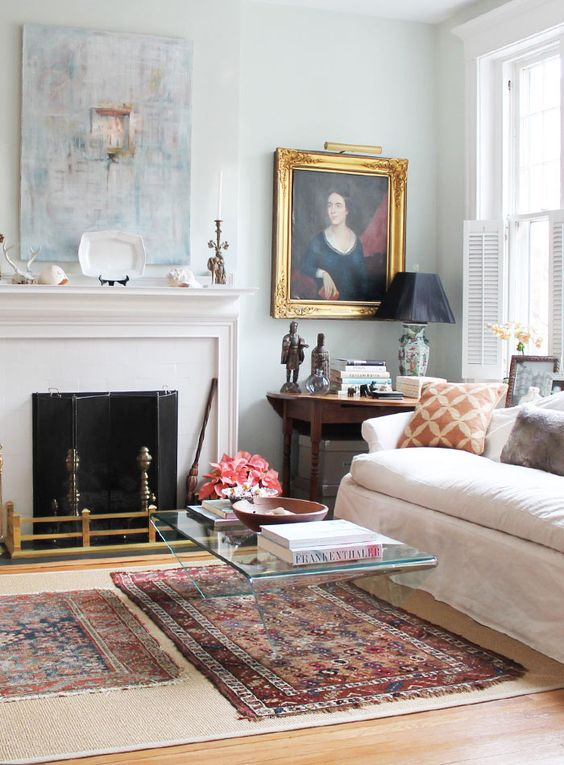 A Design Sponge tour of a funky-cool victorian home - you need to check it out!