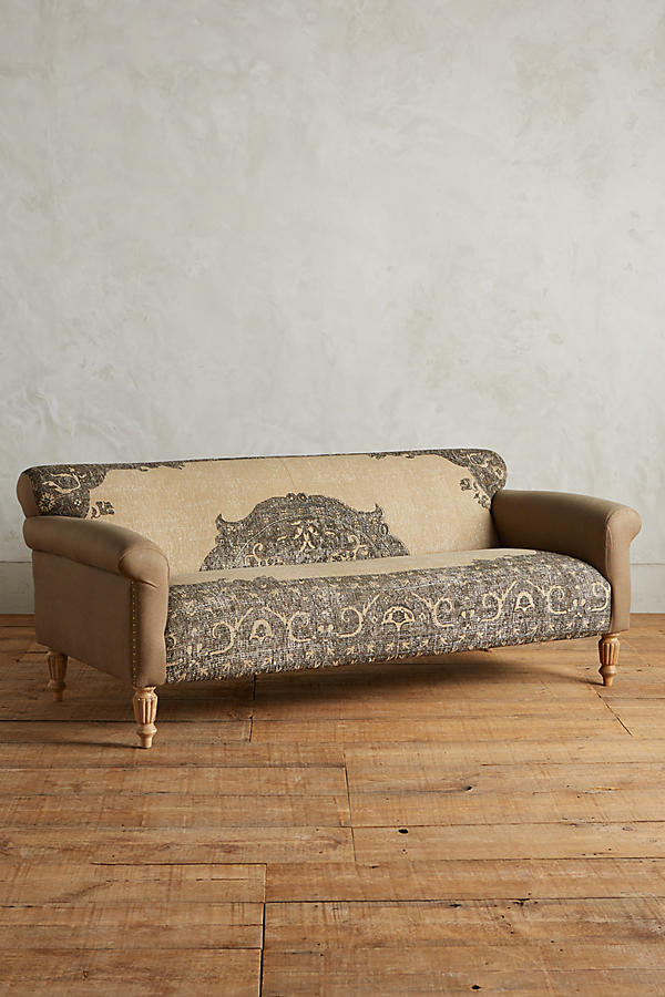 Dreaming of Dreamy Sofas - A roundup of my favorite vintage-romantic-funky sofas