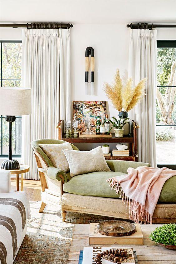 Julianne Hough's home  by designer Jake Arnold