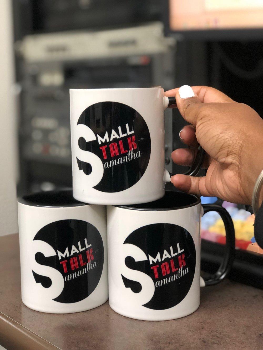 11 oz. Mug w/Color Inside & Handle (Black)