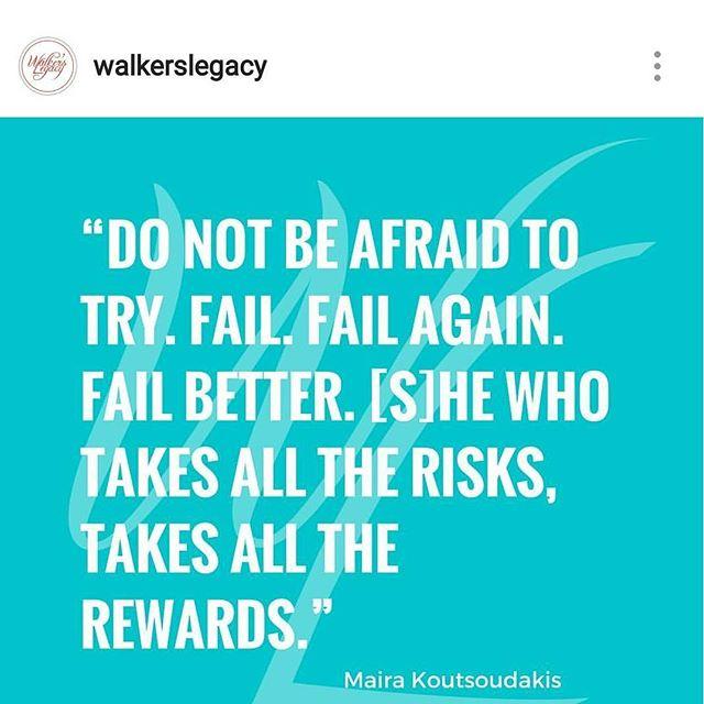 #failandfailagain #youwillwin @walkerslegacy