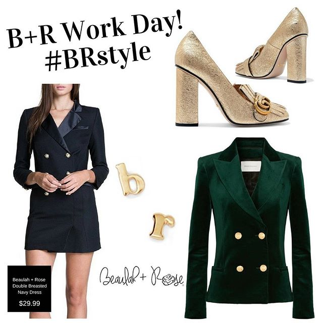 Power Move Monday Look! #brstyle #boss #chic #ttcr #dress #navy #velvet #blazer #boutique #dcitystyle #dcboutique #gucci #capitalhill #visitus #shoponline #ootd #blackowned #washingtonian #womanowned #hbcugrad #hamptonuniversity