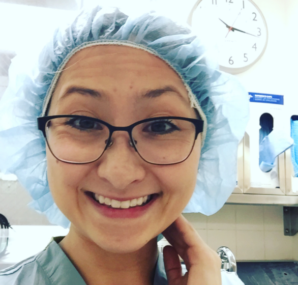 - Got to scrub into a myomectomy today aka removing fibroids! Scroll to the next photo for examples of fibroids (from webmd). Our patient had four fibroids removed, the largest one was about the size of an apple! 😱 So cool to see, but painful for our patient!