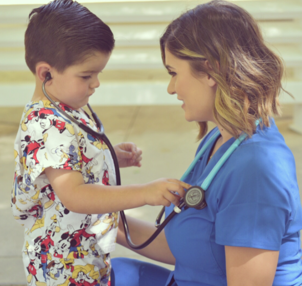 #allheartSquad: @alexx_xox - I remember receiving my first Littmann like it was yesterday. Being a mom, I share my excitement for new things with my boys and we all sat on the floor opening up this box from Allheart. Both Johnny and Michael took a turn listening to my heartbeat. When it was Michael's turn he looked up and with eyes shining in amusement he yelled