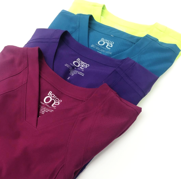 @allheartscrubs - Barco One is eco-friendly, and ridiculously comfy & stretchy. It comes in over 15 color for women and 8 colors for men, pictured are 4 NEW colors available now.