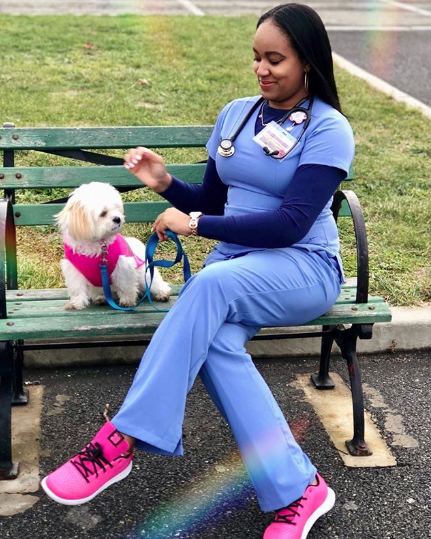 """@futuremdbri - """"…I am an Afro-Latina, an immigrant, a female, a non-traditional student, a mother and living in remission with long-term effects from breast cancer. My life is a walking challenge against adversity in the medical field but yet... I am still here kicking the challenges in the face and taking names."""""""
