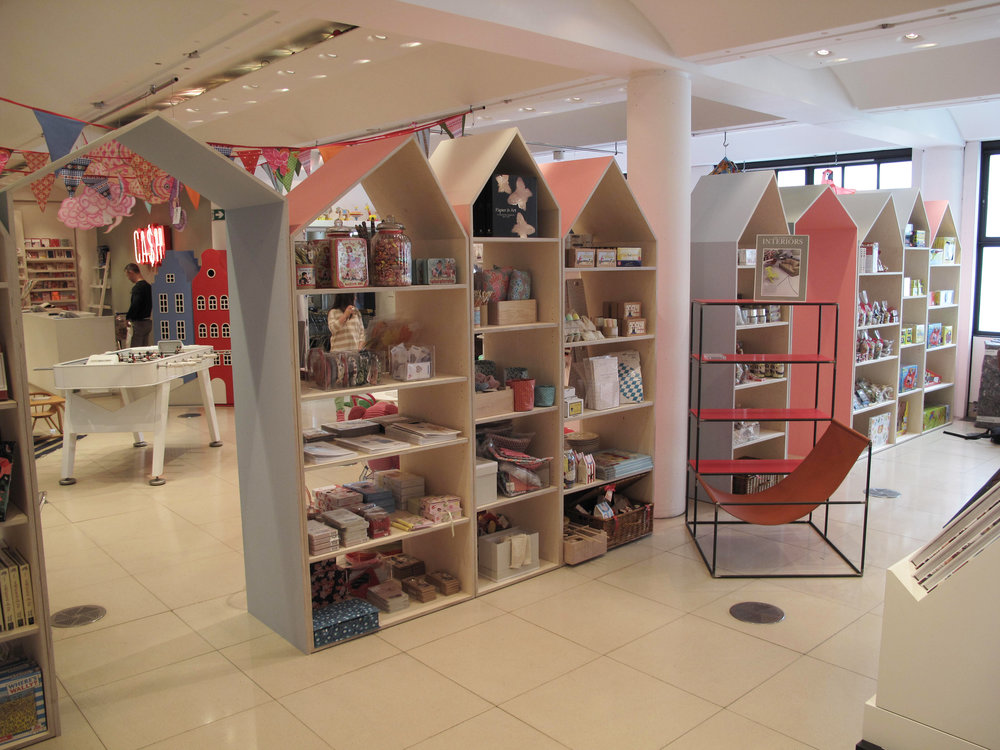 Conran Store Display Shelving