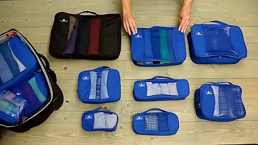Eagle Creek organizing packers are my absolute favorite, can't beat em and they not only give you more space,but make packing easier.  But the starter set here.