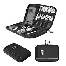 This electronic organizer from  Bagsmart  can be snatched up for just $17.99 off amazon. I love this one because it stores everything you need, and allows you easy access for charging on the go.