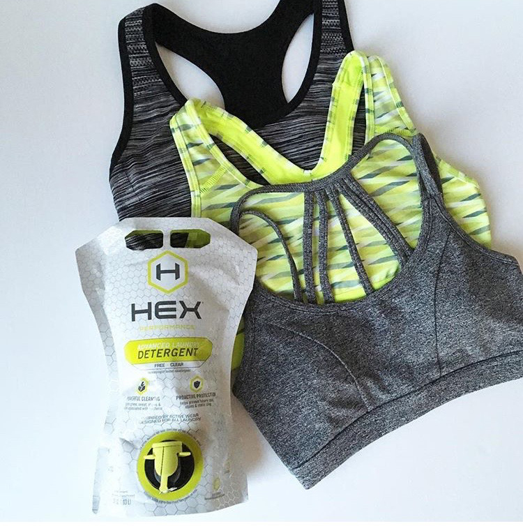 Hex Performance Detergent - For the really tough stuffTIt comes in a few different forms, all made for the types of fabrics we generally sweat in and heavy on the anti-stink formulas.  Grab it here for a killer 10 bucks.
