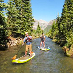 Stand Up Paddle Boarding in Telluride